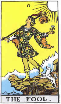 Fool Tarot Card