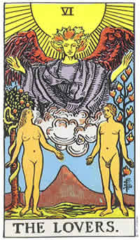 Lovers Tarot Card